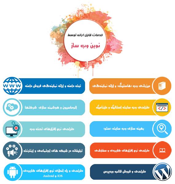 خرید هاست, ثبت دامنه, خرید سرور مجازی, طراحی وب سایت, سئو سایت, سئو